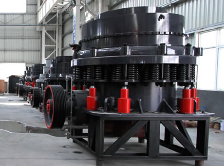 Singlecylinder Hydraulic Cone Crusher Is An Advanced