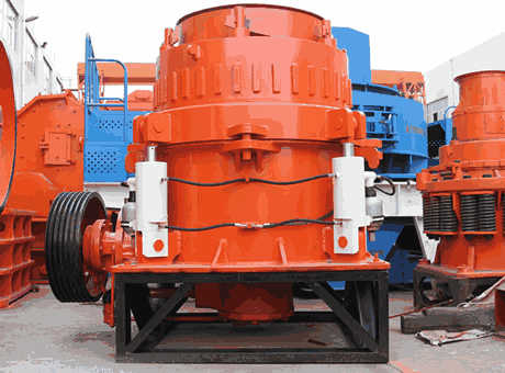 China Cone Crusher Specifications