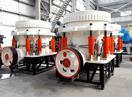 Nordberg Symons Cone Crusher Specification