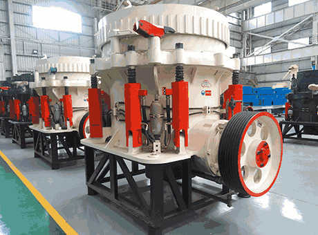 Professional Iron Ore Spring Cone Crusher For Mining Ore