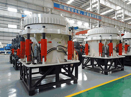 Tph Hydraulic Cone Crusher Assembly Details