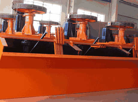 Flotation Machine Flotation Cell Flotation Plant