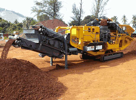 Iron Ore Mobile Crushing And Screening Units
