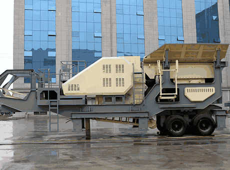 Sale Portable Barite Crushing Plant