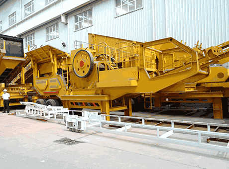 Mobile Crusher Machine For Iron Ore In India  Mobile