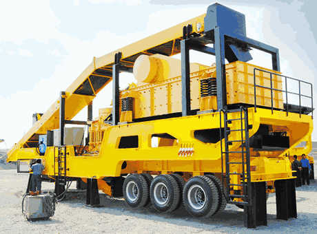 Production Line  Iron Ore Crushing And Screening In India