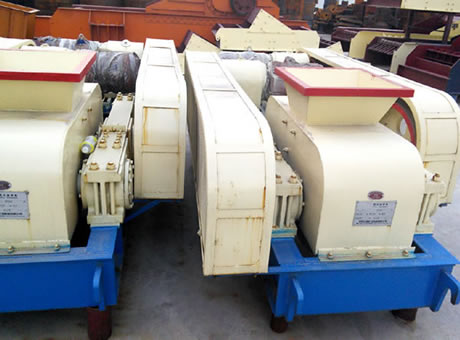 Manual Of Double Roller Crusher