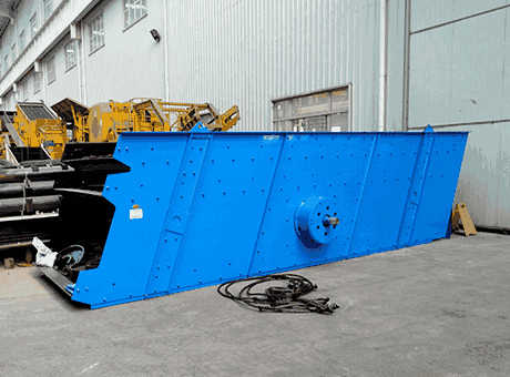 Vibrating Screen Capacity 2250 Tons